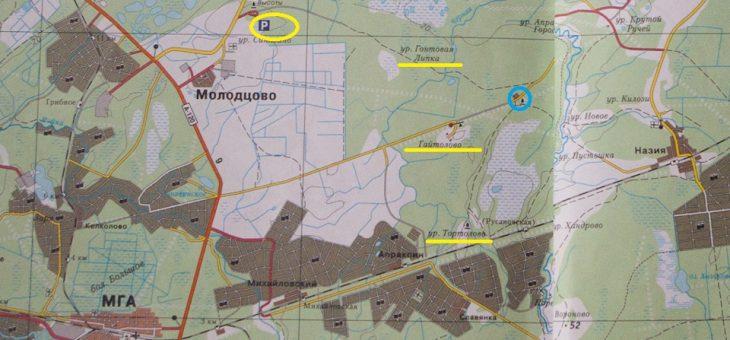 Карта Тортолово
