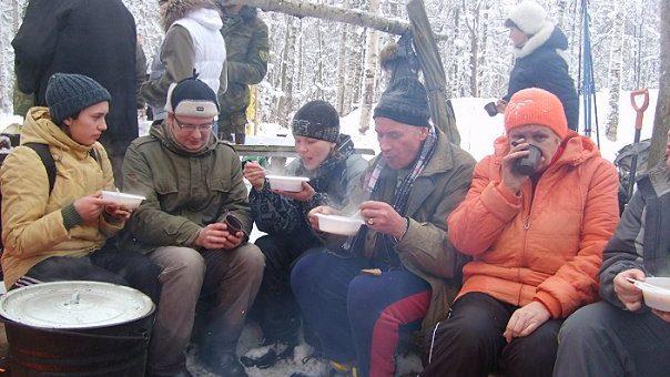 13 лыжный поход. 30 января 2010 г.